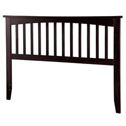 Atlantic Furniture Mission Spindle Headboard in Espresso