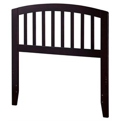 Atlantic Furniture Richmond Spindle Headboard in Espresso