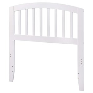 Atlantic Furniture Richmond Spindle Headboard in White