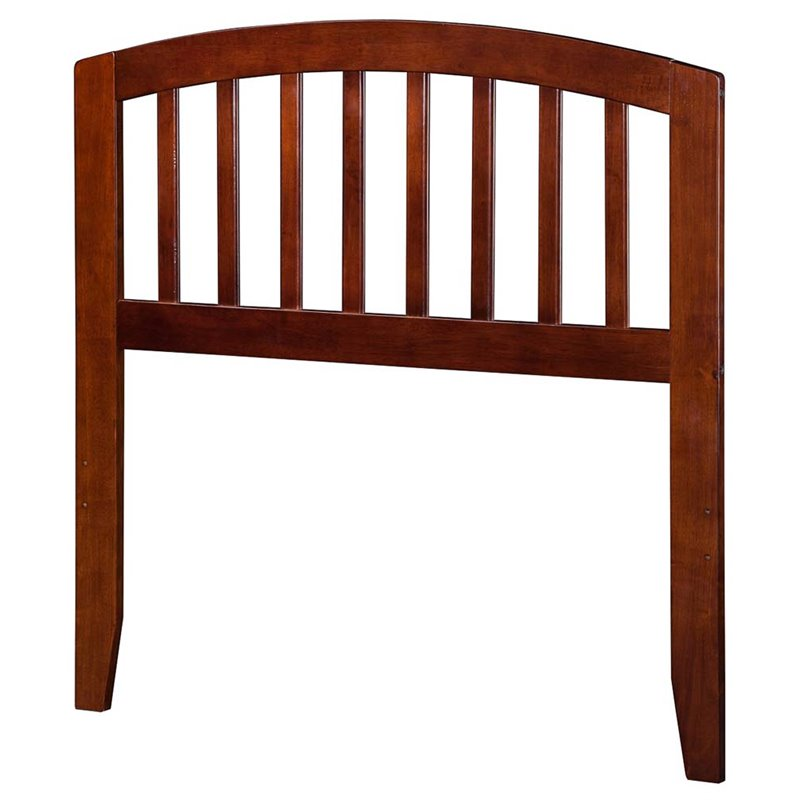 Atlantic Furniture Richmond Twin Spindle Headboard in Walnut