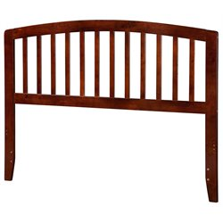 Atlantic Furniture Richmond Spindle Headboard in Walnut