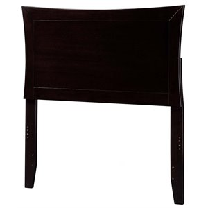 Atlantic Furniture Metro Panel Headboard in Espresso