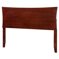 Atlantic Furniture Metro Panel Headboard in Walnut