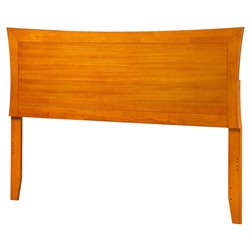 Atlantic Furniture Metro Panel Headboard in Caramel Latte