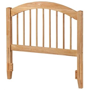 Atlantic Furniture Windsor Spindle Headboard in Natural