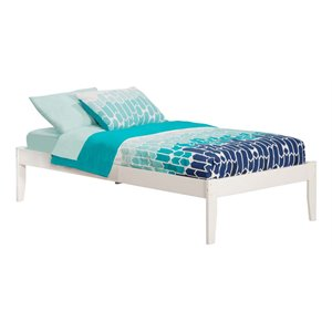 Atlantic Furniture Concord Platform Bed in White