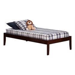 Atlantic Furniture Concord Platform Bed in Walnut