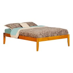 Atlantic Furniture Concord Platform Bed in Caramel Latte