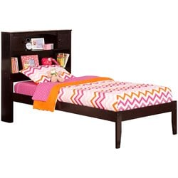Atlantic Furniture Newport Platform Bed in Espresso