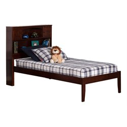 Atlantic Furniture Newport Platform Bed in Walnut