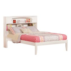 Atlantic Furniture Newport Platform Bed in White