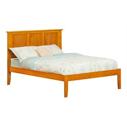 Atlantic Furniture Madison Panel Platform Bed in Caramel Latte (A)
