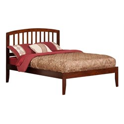 Atlantic Furniture Richmond Spindle Platform Bed in Walnut (A)