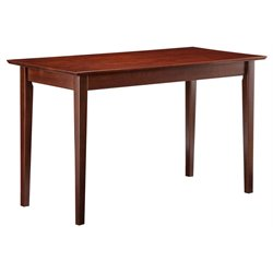 Atlantic Furniture Shaker Work Table in Walnut