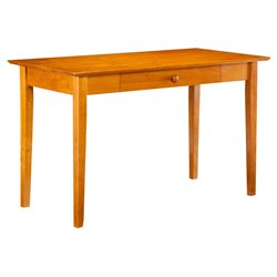 Atlantic Furniture Shaker Writing Desk in Caramel Latte