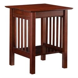 Atlantic Furniture Mission Printer Stand in Walnut