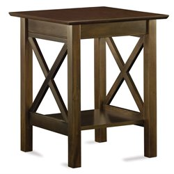 Atlantic Furniture Lexi Printer Stand in Walnut