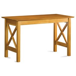 Atlantic Furniture Lexi Work Table in Caramel Latte