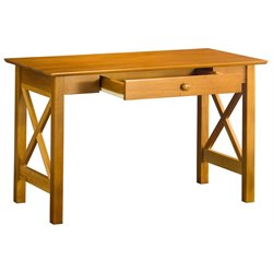 Atlantic Furniture Lexington Writing Desk in Caramel Latte