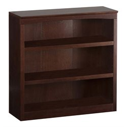 Atlantic Furniture Harvard Bookcase in Walnut