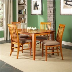 Atlantic Furniture Shaker Dining Table in Caramel Latte