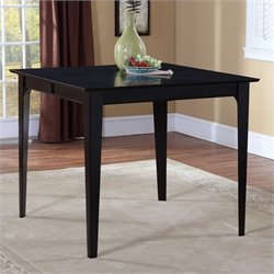Atlantic Furniture Montreal Dining Table in Espresso - 36 x 48 Solid Table