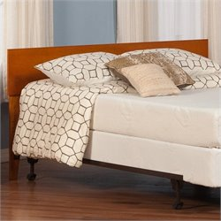Atlantic Furniture Orlando Panel Headboard in caramel latte - Twin