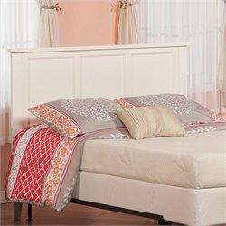 Atlantic Furniture Madison Panel Headboard in White - Twin