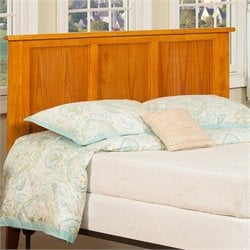 Atlantic Furniture Madison Headboard in Caramel Latte - Twin