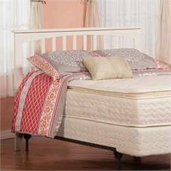 Atlantic Furniture Mission Slat Headboard in White - Full