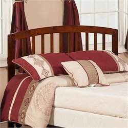 Atlantic Furniture Richmond Slat Headboard in Antique Walnut
