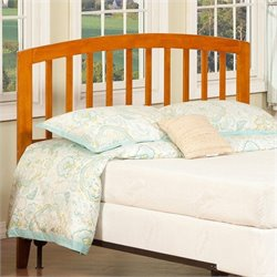 Atlantic Furniture Richmond Slat Headboard in Brown - Full Size