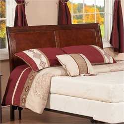 Atlantic Furniture Portland Panel Headboard in Brown - King