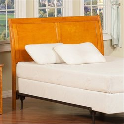 Atlantic Furniture Portland Headboard in Caramel Latte - Twin
