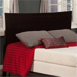 Atlantic Furniture Metro Headboard in Espresso - Full