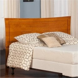 Atlantic Furniture Metro Headboard in Caramel Latte - Full