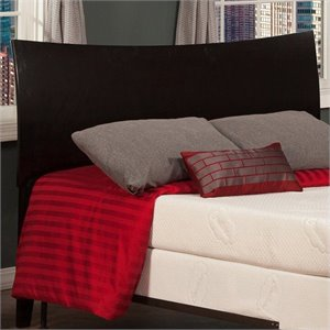 Atlantic Furniture Soho Panel Headboard in Espresso