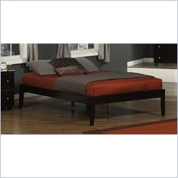 Atlantic Furniture Concord Platform Bed in a Espresso - Full