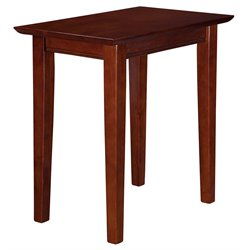 Atlantic Furniture Anderson Rectangular End Table in Walnut