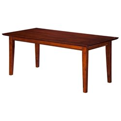 Atlantic Furniture Anderson Coffee Table in Walnut