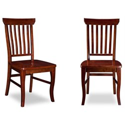 Atlantic Furniture Venetian Dining Chairs in Walnut (Set of 2)