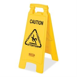 Rubbermaid Lightweight Caution Floor Sign
