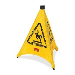 Rubbermaid Multi-Lingual Caution Safety Cones