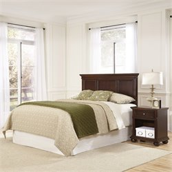 Home Styles Colonial Classic 2 Piece Bedroom Set