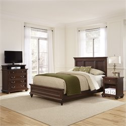 Home Styles Colonial Classic 3 Piece Queen Panel Bedroom Set