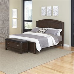 Home Styles Crescent Hill 2 Piece Queen Panel Bedroom Set