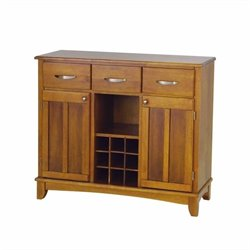 Home Styles Furniture Wood Top Cottage Oak Buffet