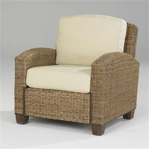 Club Chair In Honey