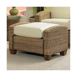 Home Styles Furniture Cabana Banana Rectangular Ottoman in Honey Finish