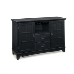 Home Styles Arts & Crafts Dining Buffet in Ebony Finish